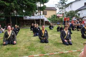 Meditation vor der Vorführung