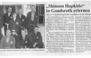 Pressebericht aus dem Jahr 2007