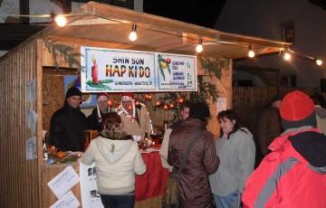 Bild vom Gondsrother Weihnachtsmarkt aus dem Jahr 2007
