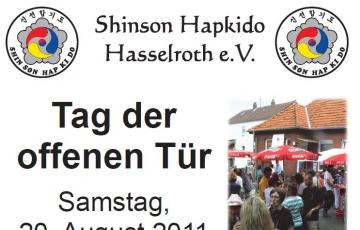 Einladung Tag der offenen Tür 2011