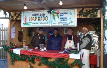 Unser Stand für den Weihnachtsmarkt Gondsroth aus dem Jahr 2010